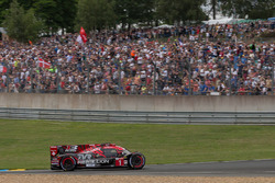 #1 Rebellion Racing Rebellion R-13: Andre Lotterer, Neel Jani, Bruno Senna zonder neus