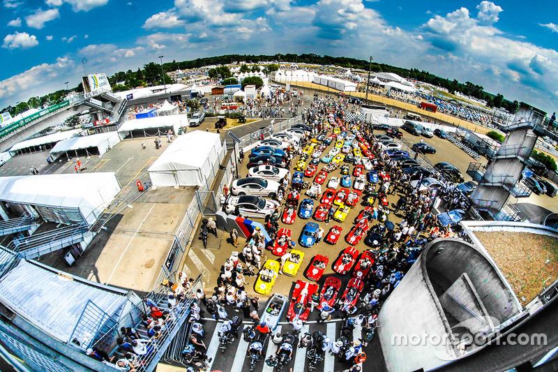 Ambiente en Le Mans Classic