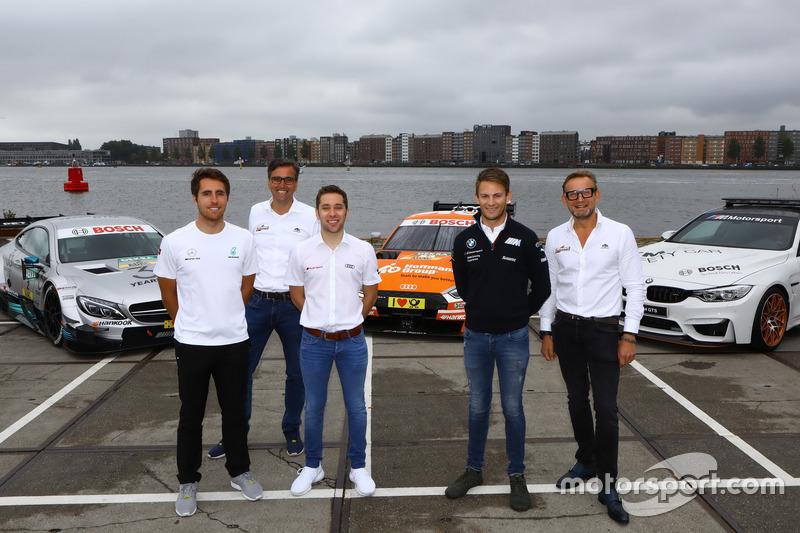 Daniel Juncadella, Mercedes-AMG Team HWA, Robin Frijns, Audi Sport Team Abt Sportsline, Marco Wittmann, BMW Team RMG, Bernhard van Oranje