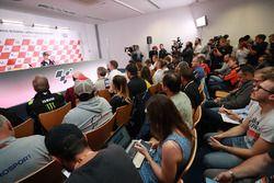 Dani Pedrosa, Repsol Honda Team en conférence de presse