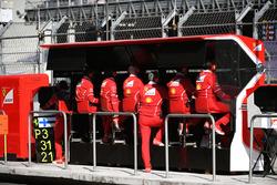 Ferrari pit wall gantry