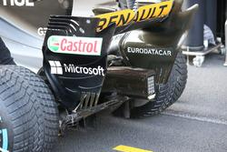Diffuseur de la Renault Sport F1 Team RS17