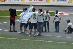 Fans with Franco Morbidelli, Marc VDS
