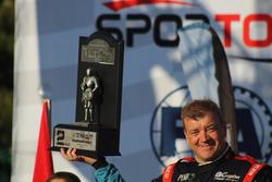 Podyum: 2. ve 2017 şampiyonu Burak Çukurova, Vedat Bostancı, Skoda Fabia R5 2, BC Vision Motorspor