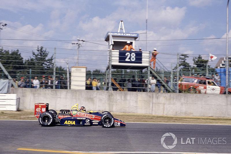 Aguri Suzuki, Larrousse/Lola LC88