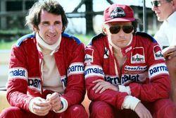 John Watson and Niki Lauda, Brabham