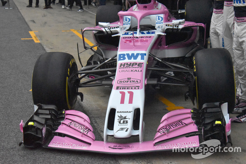 Morro del Sahara Force India VJM11