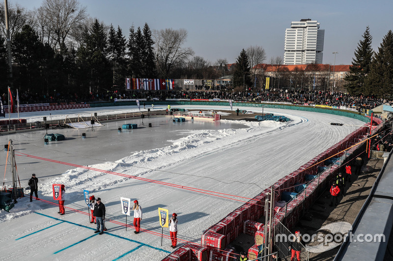 Третий этап Ice Speedway Gladiators-2018 прошел на искусственном льду стадиона «Хорст Дом» в Берлине – последней «исторической» арене в календаре чемпионата