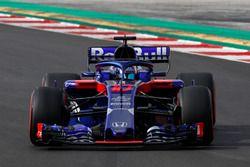 Pierre Gasly, Scuderia Toro Rosso STR13.