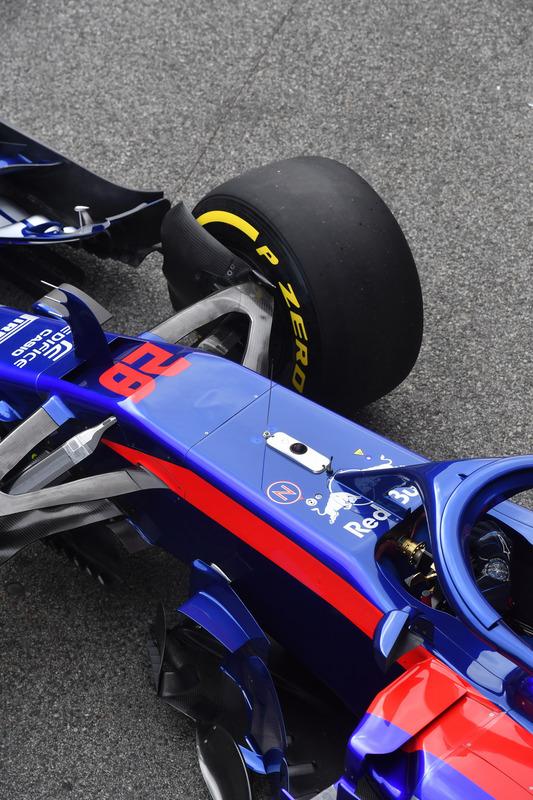 Scuderia Toro Rosso STR13 nose