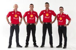 Alex Premat, Scott McLaughlin, Fabian Coulthard, Tony D'Alberto, DJR Team Penske Ford