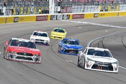 Ryan Reed, Roush Fenway Racing, Ford Mustang Drive Down A1C Lilly Diabetes, Stephen Leicht, J.P. Motorsports, Toyota Camry Jani-King