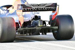 Max Verstappen, Red Bull Racing RB14, detalle trasero