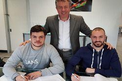 Giuseppe Testa e Andrea Crugnola firmano il contratto con FORD Racing