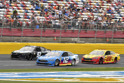 Ryan Blaney, Team Penske, Ford Fusion PPG e Joey Logano, Team Penske, Ford Fusion Shell Pennzoil