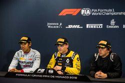 Conferenza stampa: Sean Gelael, PREMA Racing, Artem Markelov, RUSSIAN TIME, Roberto Merhi, MP Motorsport