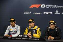 Press Conference: Sean Gelael, PREMA Racing, Artem Markelov, RUSSIAN TIME, Roberto Merhi, MP Motorsport