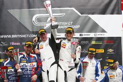 Winners #17 TF Sport Aston Martin V12 Vantage GT3: Derek Johnston, Marco Sorensen