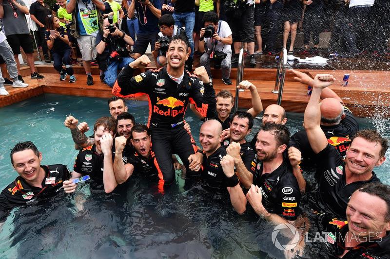 Victoria en Mónaco de Daniel Ricciardo, Red Bull Racing