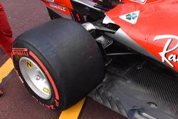 Ferrari SF71H suspensión trasera