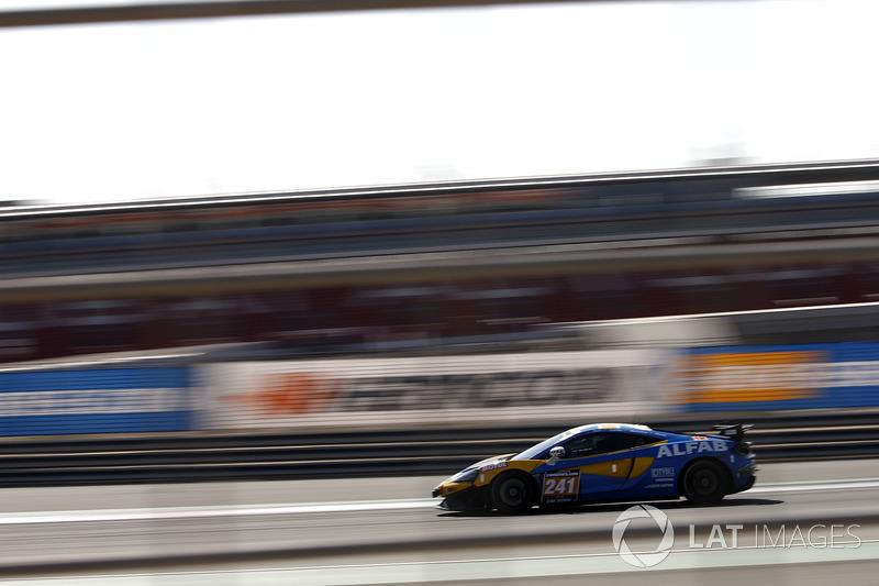 #241 ALFAB Racing McLaren 570S GT4: Erik Behrens, Daniel Ros, Fredrik Ros, Anders Levin