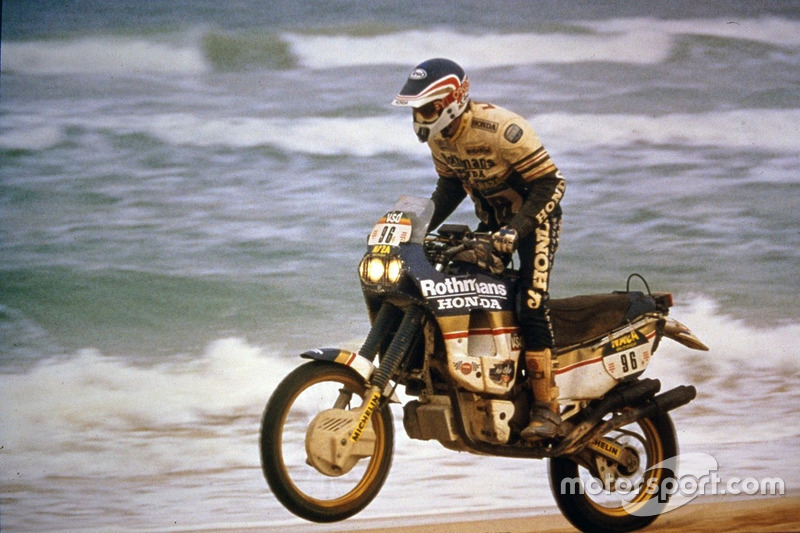 Gilles Lalay, Honda, 1 Dakar