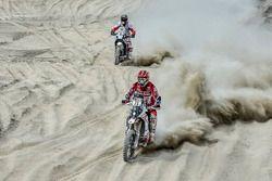 #31 GasGas Rally Team: Cristian España, #61 Hero Motorsports Team Rally: Oriol Mena
