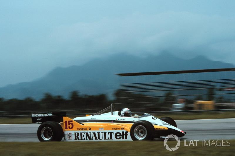 1982. Жакарепагуа. Переможець: Ален Прост, Renault RE30B