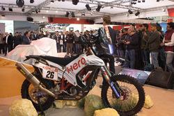 Hero MotoSports Team Rally bike