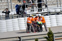 Crash, Aleix Espargaro, Aprilia Racing Team Gresini