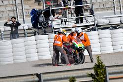 Chute d'Aleix Espargaro, Aprilia Racing Team Gresini