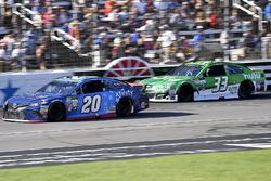 Matt Kenseth, Joe Gibbs Racing Toyota and Jeffrey Earnhardt, Circle Sport – The Motorsports Group Ch