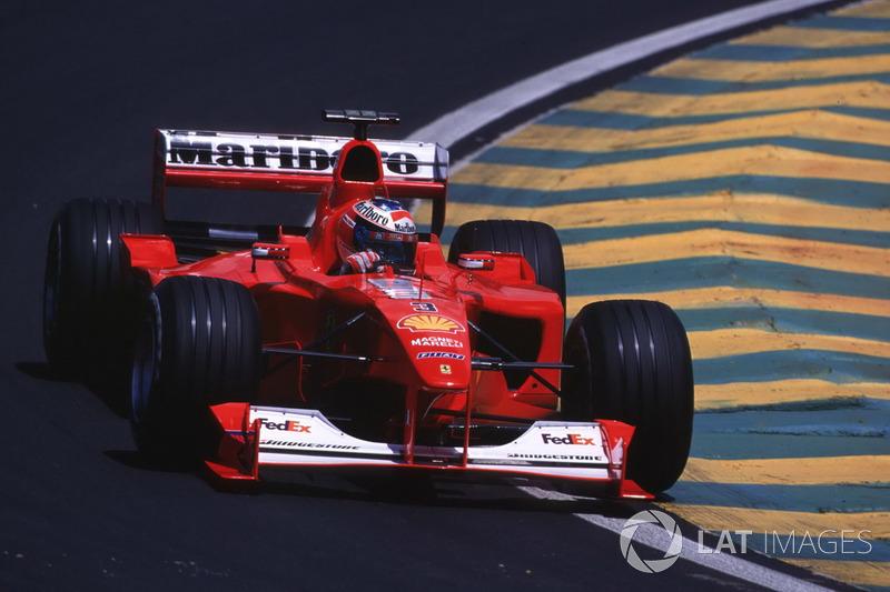 2000: Michael Schumacher, Ferrari