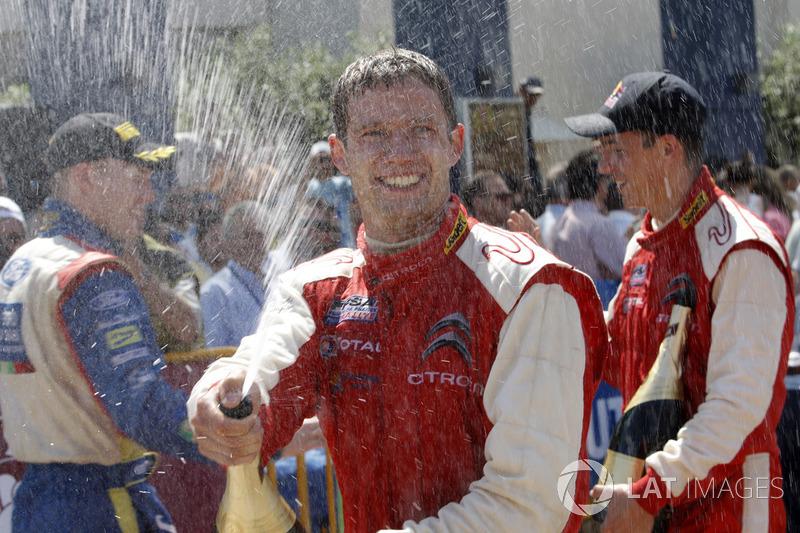 Acropole 2009 : 1er podium WRC