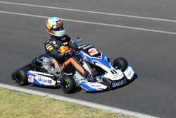 Daniel Ricciardo, Red Bull Racing karting at the Go Kart Club Victoria