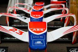 Nose cones of Mahindra Racing