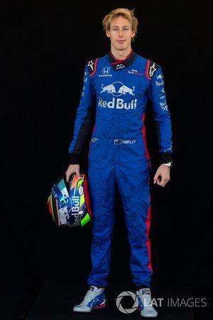 Brendon Hartley, Scuderia Toro Rosso