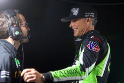 #22 Tequila Patron ESM Nissan DPi, P: Johannes van Overbeek celebrates overall victory