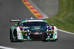 #29 Montaplast by Land Motorsport Audi R8 LMS GT3, GTD: Sheldon van der Linde, Christopher Mies