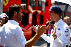Mark Webber with Brendon Hartley, Toro Rosso
