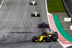 Carlos Sainz Jr., Renault Sport F1 Team R.S. 18, Lance Stroll, Williams FW41, Sergio Perez, Force India VJM11, Pierre Gasly, Toro Rosso STR13, Sergey Sirotkin, Williams FW41