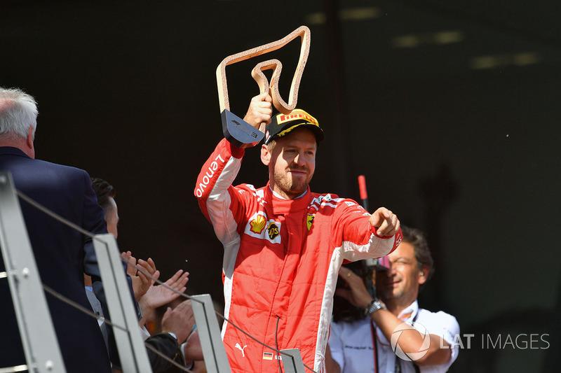 3e : Sebastian Vettel (Ferrari)