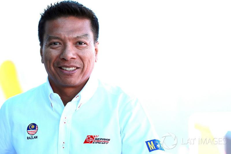 CEO Sepang International Circuit, Dato' Razlan Razali