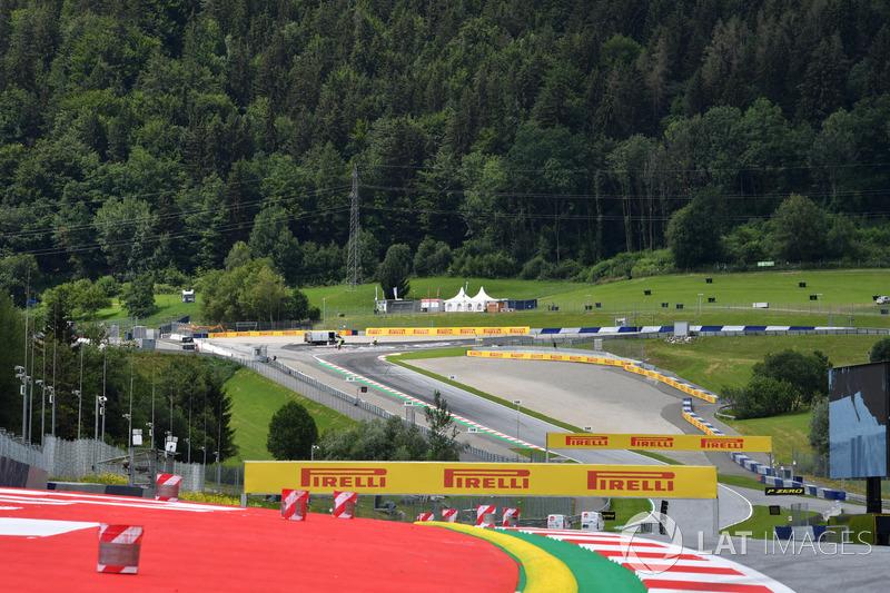 Dettaglio della pista del Red Bull Ring