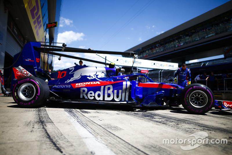 11e : Pierre Gasly (Toro Rosso)