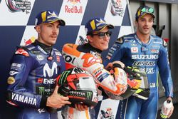 Top3 Qualifiche: Maverick Viñales, Yamaha Factory Racing, Marc Marquez, Repsol Honda Team, Andrea Iannone, Team Suzuki MotoGP