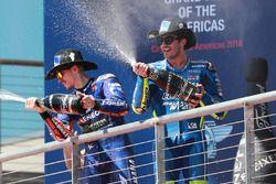 Podyum: Maverick Viñales, Yamaha Factory Racing, Andrea Iannone, Team Suzuki MotoGP