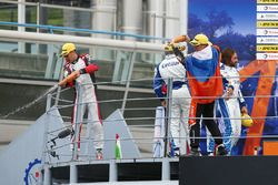 Podio LMP2: al secondo posto #33 TDS Racing Oreca 07 - Gibson: Loic Duval