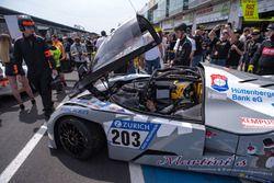 #203 Isert Motorsport KTM X-Bow GT4: Arne Hoffmeister, Florian Wolf, Nils Jung, Robert Schröder