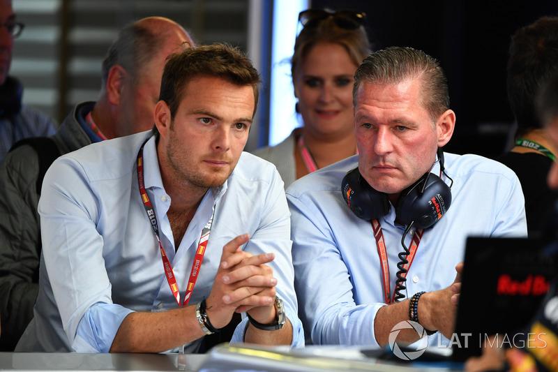 Giedo van der Garde, and Jos Verstappen